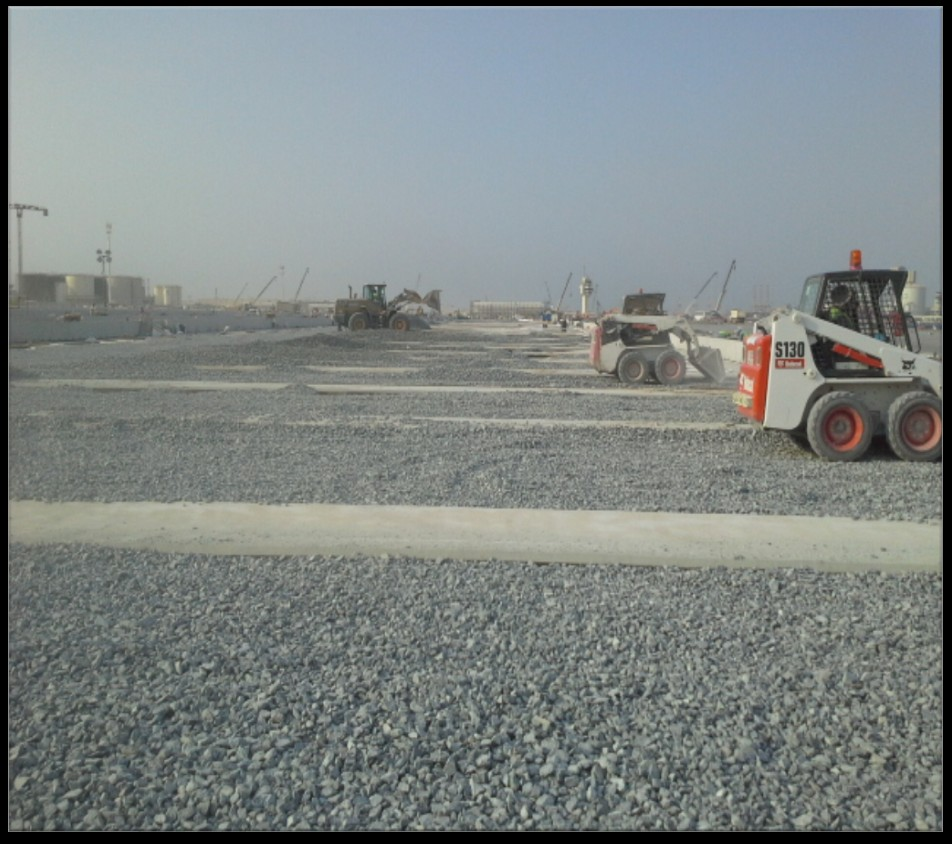 DP WORLD T3 CONTAINER TERMINAL AT JEBEL ALI  FOR ARABAIN COAST CONTRACTING