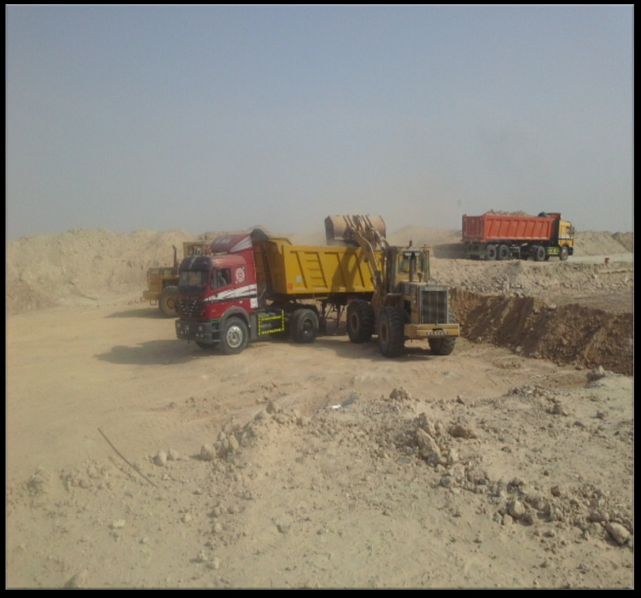 BULK GRADING WORKS & DISPOSAL AT EMIRATES SKY CARGO TERMINAL - JEBEL ALI AIRPORT FOR EMIRATES AIRLINE
