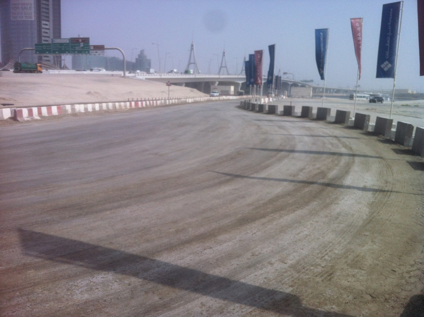 PREPARATION OF ACCESS ROAD PV AND D1 PROJECTS, CULTURE VILLAGE - AL JADAF – FOR ENSHAA