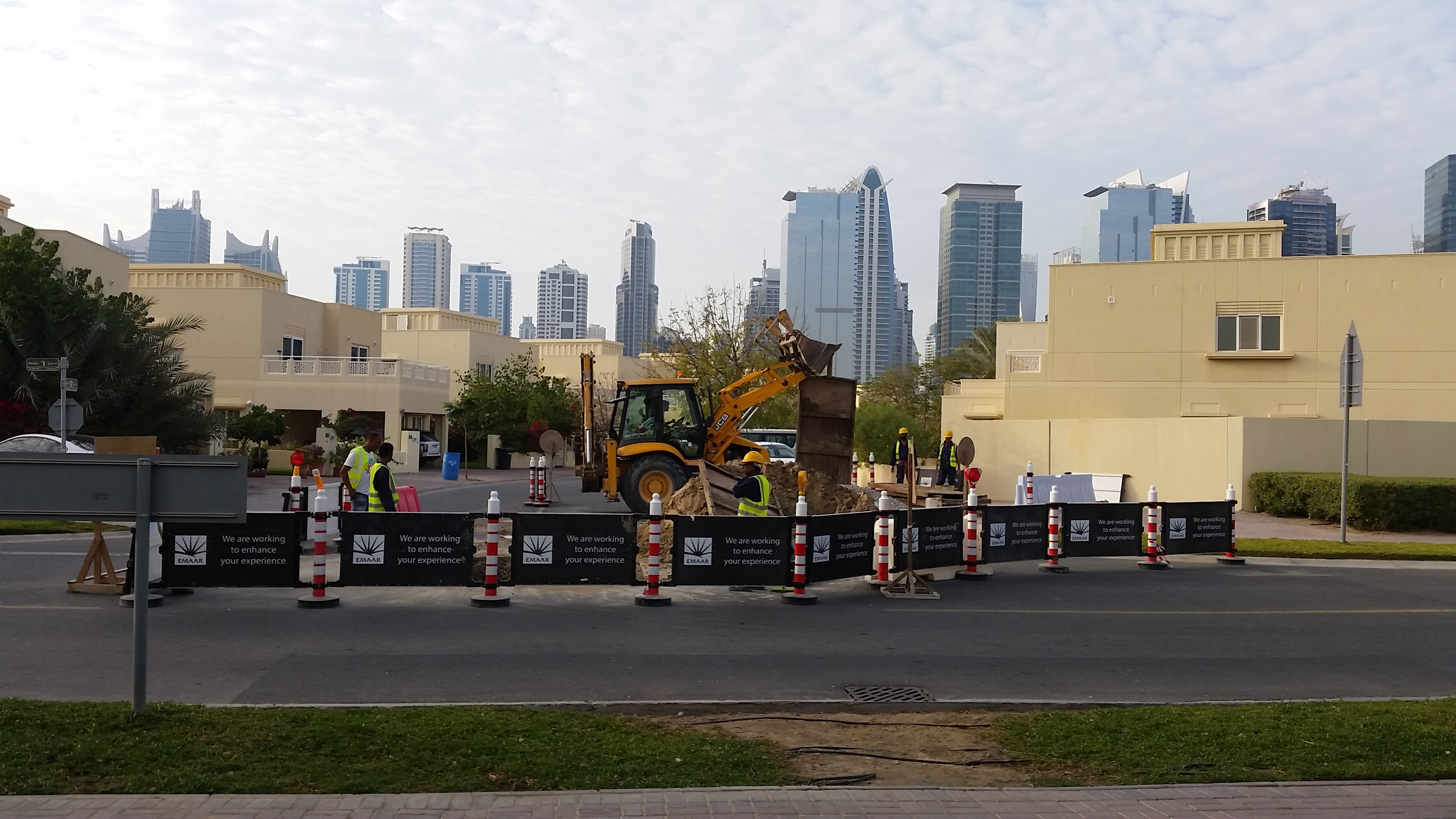 REMOVAL OF EXISTING ASPHALT ROAD AND REINSTATEMENT AT MEADOWS 1 & 2 - FOR EMRILL / EMAAR